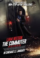 The Commuter - Malaysian Movie Poster (xs thumbnail)