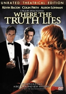 Where the Truth Lies - DVD cover (xs thumbnail)
