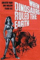 When Dinosaurs Ruled the Earth - British Movie Poster (xs thumbnail)
