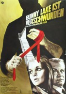 Bunny Lake Is Missing - German Movie Poster (xs thumbnail)