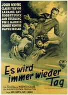 The High and the Mighty - German Movie Poster (xs thumbnail)