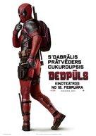 Deadpool - Latvian Movie Poster (xs thumbnail)
