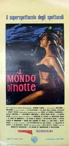 Il mondo di notte - Italian Movie Poster (xs thumbnail)
