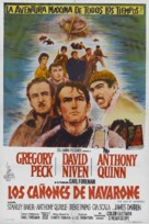 The Guns of Navarone - Argentinian Movie Poster (xs thumbnail)
