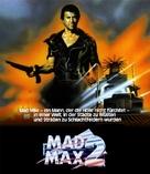 Mad Max 2 - German Blu-Ray movie cover (xs thumbnail)