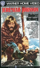 Jeremiah Johnson - German VHS cover (xs thumbnail)