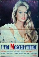 Les trois mousquetaires: Première époque - Les ferrets de la reine - Italian Movie Poster (xs thumbnail)