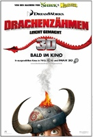 How to Train Your Dragon - German Movie Poster (xs thumbnail)