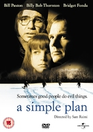 A Simple Plan - British DVD cover (xs thumbnail)
