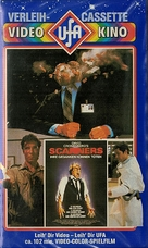 Scanners - German VHS movie cover (xs thumbnail)