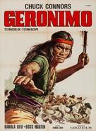 Geronimo - Italian Movie Poster (xs thumbnail)