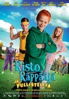 Risto Räppääjä ja pullistelija - Finnish Movie Poster (xs thumbnail)