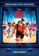 Wreck-It Ralph - British Movie Poster (xs thumbnail)