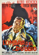 Shadow of a Doubt - Italian Movie Poster (xs thumbnail)