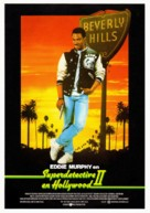 Beverly Hills Cop 2 - Spanish Movie Poster (xs thumbnail)