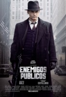 Public Enemies - Argentinian Movie Poster (xs thumbnail)