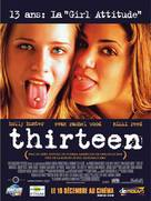 Thirteen - French Movie Poster (xs thumbnail)