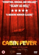 Cabin Fever - British DVD cover (xs thumbnail)