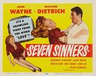 Seven Sinners - Movie Poster (xs thumbnail)