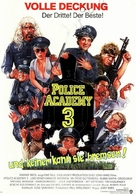Police Academy 3: Back in Training - German Movie Poster (xs thumbnail)