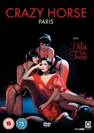 Crazy Horse, Paris with Dita Von Teese - British DVD cover (xs thumbnail)