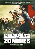 Cockneys vs Zombies - Finnish DVD cover (xs thumbnail)