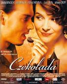 Chocolat - Polish Movie Poster (xs thumbnail)