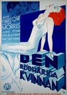 Red-Headed Woman - Swedish Movie Poster (xs thumbnail)