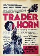 Trader Horn - poster (xs thumbnail)