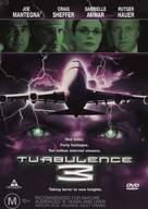 Turbulence 3: Heavy Metal - Australian DVD cover (xs thumbnail)