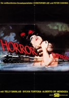 Horror Express - German Movie Poster (xs thumbnail)