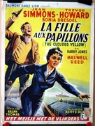 The Clouded Yellow - Belgian Movie Poster (xs thumbnail)