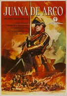 Joan of Arc - Spanish Movie Poster (xs thumbnail)