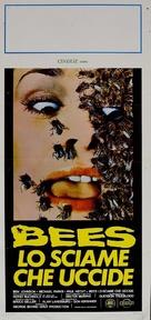The Savage Bees - Italian Movie Poster (xs thumbnail)