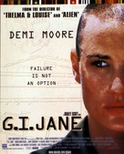 G.I. Jane - British Movie Poster (xs thumbnail)