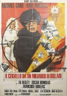 Billion Dollar Brain - Italian Movie Poster (xs thumbnail)