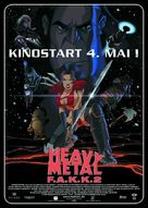 Heavy Metal 2000 - German Movie Poster (xs thumbnail)