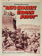 Davy Crockett, Indian Scout - Re-release poster (xs thumbnail)