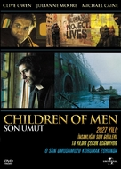 Children of Men - Turkish Movie Cover (xs thumbnail)