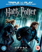 Harry Potter and the Deathly Hallows: Part I - British Movie Cover (xs thumbnail)