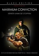 Maximum Conviction - German DVD cover (xs thumbnail)