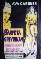 The Barefoot Contessa - Swedish Movie Poster (xs thumbnail)