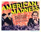 American Madness - Movie Poster (xs thumbnail)