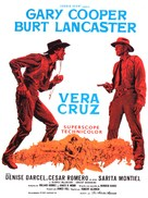 Vera Cruz - French Movie Poster (xs thumbnail)