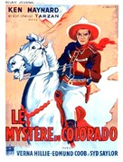 Mystery Mountain - French Movie Poster (xs thumbnail)