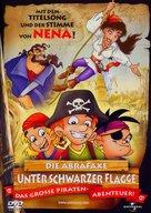 Abrafaxe - Unter schwarzer Flagge, Die - German Movie Cover (xs thumbnail)