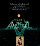 Escape From Alcatraz - German Blu-Ray cover (xs thumbnail)