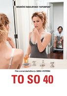 This Is 40 - Slovenian Movie Poster (xs thumbnail)