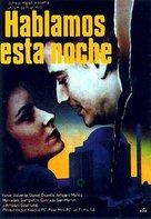 Hablamos esta noche - Spanish Movie Poster (xs thumbnail)