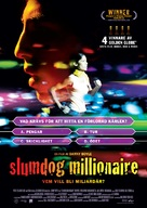 Slumdog Millionaire - Swedish Movie Poster (xs thumbnail)